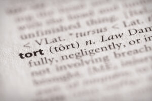 business tort law dictionary entry